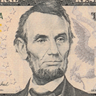 Abraham Lincoln on the 5 Dollar Bill