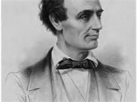 Sketch of a younger Abraham Lincoln