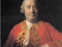 David Hume was a friend and contemporary of Adam Smith.