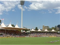 Adelaide Oval during a cricket match in 2006.