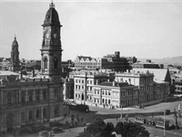 Adelaide General Post Office in 1950