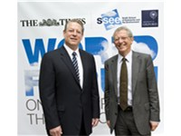 Al Gore and the former Chief Scientific Advisor to H.M. Government Professor Sir David King at the W