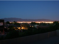 Albuquerque at dusk in 2007.