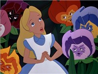 Alice in Disney's animated version