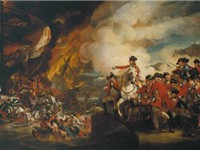 The Defeat of the Floating Batteries at Gibraltar, September 13, 1782, by John Singleton Copley
