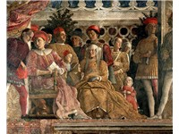 The court of Mantua, fresco for the Camera degli Sposi of Palazzo Ducale, Mantua.