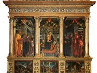San Zeno Altarpiece, (central panel), 1457-60; San Zeno, Verona