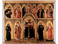San Luca Altarpiece, 1453; Tempera on panel; Pinacoteca di Brera, Milan