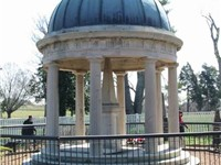 The tomb of Andrew and Rachel Donelson Jackson located at their home, The Hermitage