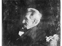 Daguerreotype of Andrew Jackson at age 77 or 78 (1844/1845)