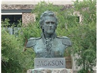 Military governor Jackson was sworn in at Plaza Ferdinand VII in Pensacola, Florida