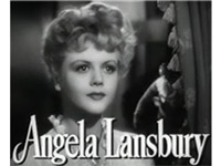 Lansbury in the trailer for The Picture of Dorian Gray (1945)