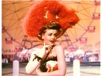Lansbury in a scene from MGM's Till the Clouds Roll By (1946), one of her earliest film appearances.