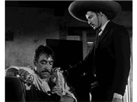 as Eufemio Zapata with Marlon Brando's Emiliano Zapata in the trailer for Viva Zapata! (1952)
