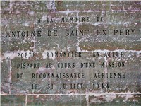 Commemoration plaque in the Parisian Panth on.
