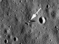 Apollo 11 Landing Site Seen by the Lunar Reconnaissance Orbiter.