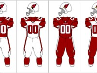 Arizona Cardinals uniform combinations
