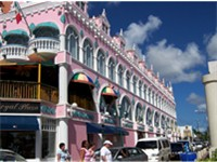The capital Oranjestad