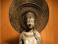 Replica of Kudara Kannon in the British Museum.