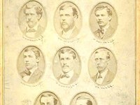 1873 Boston Red Stockings team picture: finished first with a record of 43-16