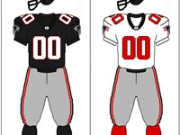 Atlanta Falcons uniform: 1997-2002