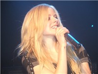 Lavigne's tattoo on her right wrist
