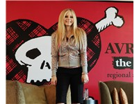 Lavigne promoting The Best Damn Thing in Hong Kong, 2007