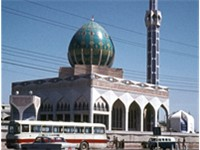 Albunneya mosque in Al-Alawi district Baghdad 1973