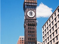 Bromo Seltzer Tower, erected in 1911