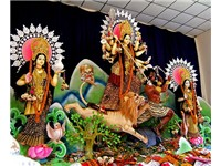Durga Puja at the Dhakeshwari Temple