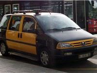 Barcelona taxi
