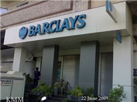 A Barclays branch in Karachi, Pakistan