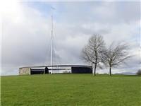 The modern Bannockburn monument