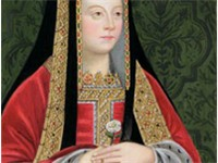 Elizabeth of York: rumours of her marriage launched Henry's invasion.