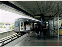 Tren Urbano at Bayamon Station
