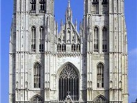 St. Michael and Gudula Cathedral in Brussels
