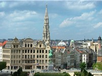 Brussels, the capital of Belgium and largest metropolitan area in the country.