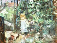 Berthe Morisot, Child among Staked Roses, 1881, Wallraf-Richartz Museum, Cologne
