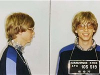 Bill Gates' mugshot from a traffic violation in 1977