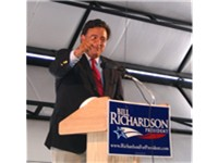 Richardson campaigning in Elko, Nevada; July 2007