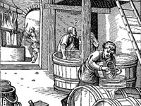 Brewing was an early application of biotechnology