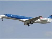 Embraer ERJ 145 lands