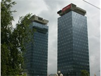 UNITIC towers (Momo and Uzeir) in Sarajevo