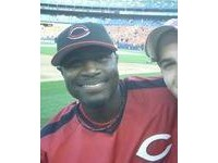 Brandon Phillips at Shea Stadium in 2006