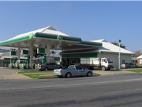 BP 2go branded petrol station in Australia