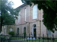 A picture of the Brownsville Masonic Temple Rio Grande Lodge No. 81, constructed in 1882 it was orig