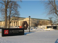 Albright-Knox Art Gallery from Elmwood Avenue