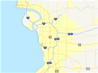 Major highways that serve the Greater Buffalo area