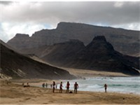 Beach on S o Vicente Island.