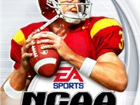 Carson Palmer on the cover of the NCAA Football 2004.
